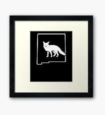 Fox Hunt Art Shirt New Mexico Fox Huntsman Framed Print