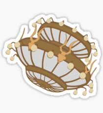 Crashing Chandelier  Sticker