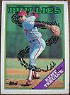 027 - Kent Tekulve by Foob's Baseball Cards