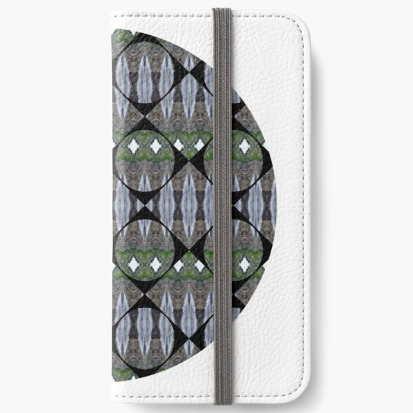 Schema, chart, proportion, adequacy, symmetry, fashionable, trendy, stylish iPhone Wallet