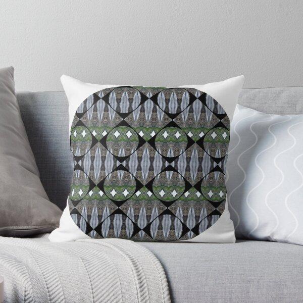 Schema, chart, proportion, adequacy, symmetry, fashionable, trendy, stylish Throw Pillow