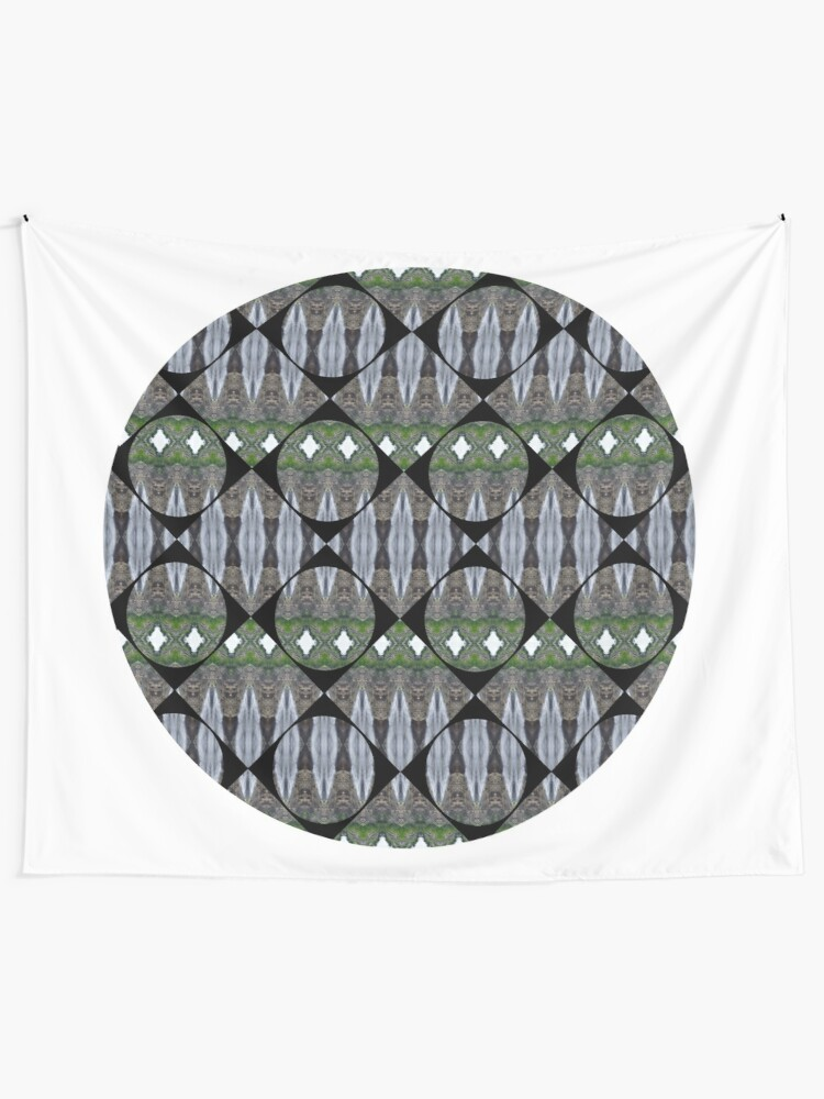 Alternate view of Schema, chart, proportion, adequacy, symmetry, fashionable, trendy, stylish Tapestry