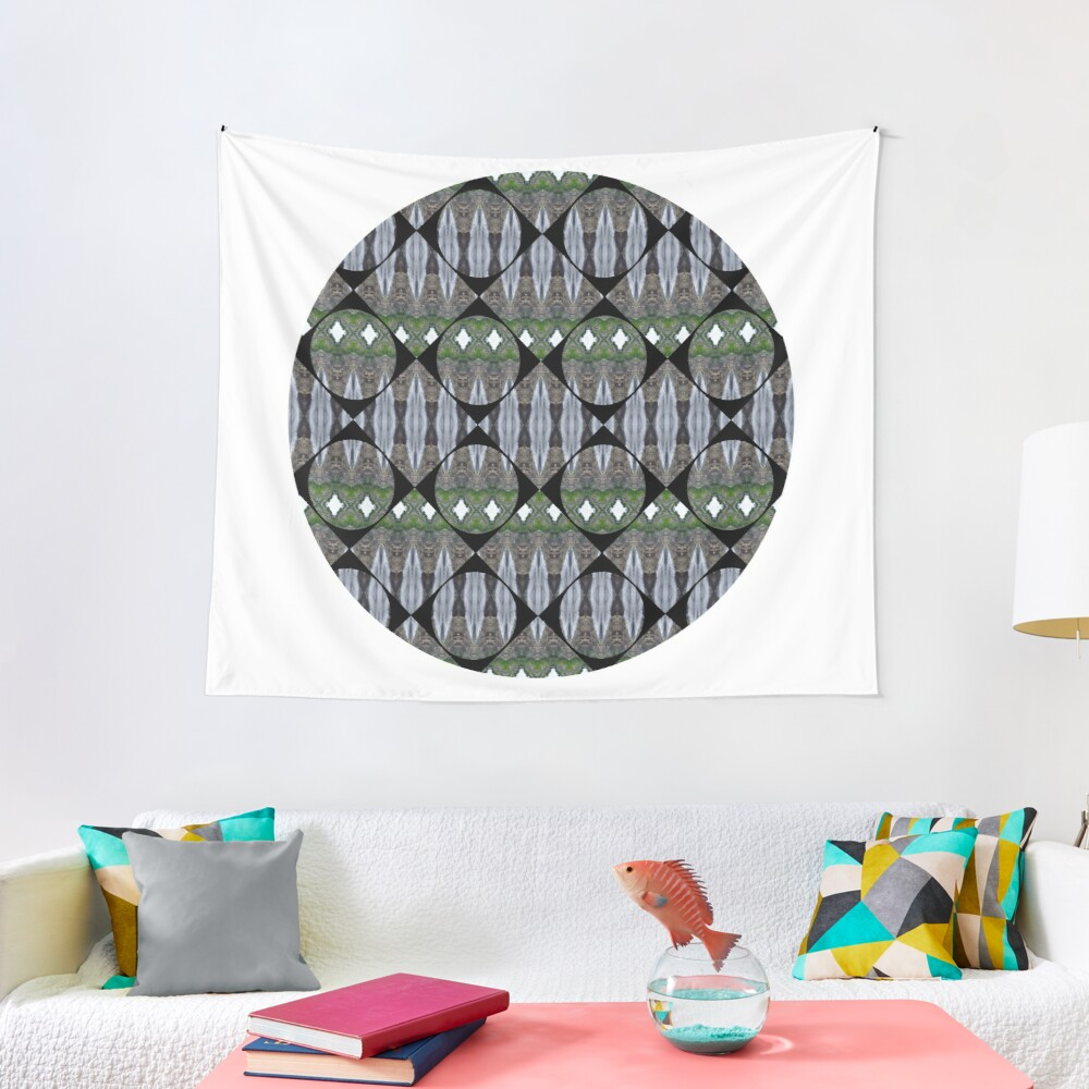 Schema, chart, proportion, adequacy, symmetry, fashionable, trendy, stylish Tapestry