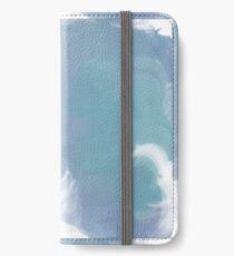 Blue wave iPhone Wallet/Case/Skin