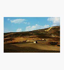 Sicily. Fields XX. 2011 Photographic Print