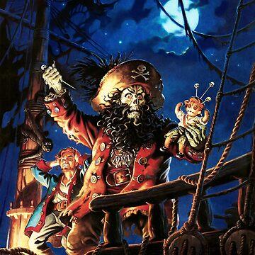 Monkey Island 2 LeChuck's Revenge (High Contrast) by hangman3d