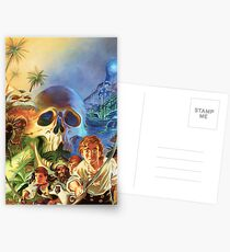 The Secret of Monkey Island 1 (High Contrast) Postcards