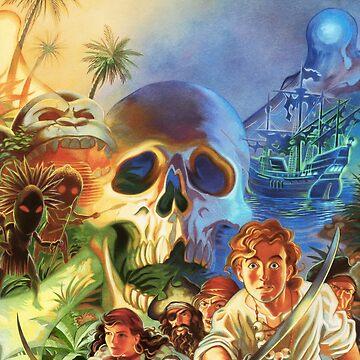 The Secret of Monkey Island 1 (High Contrast) by hangman3d
