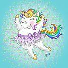 Sparkle the Rainbow Unicorn by Floras-Pond