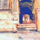 Venetian Doorway   /  Watercolor     ( My Paintings ) by fiat777