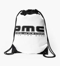 DeLorean Motor Company - Black Clean Drawstring Bag