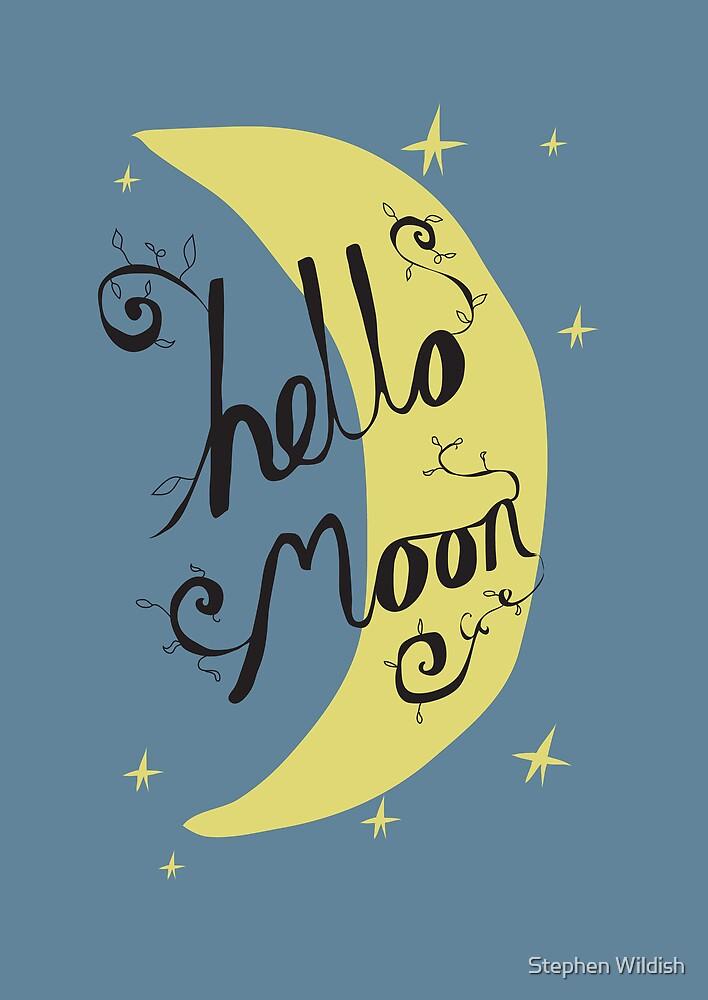 Hello Moon by Stephen Wildish