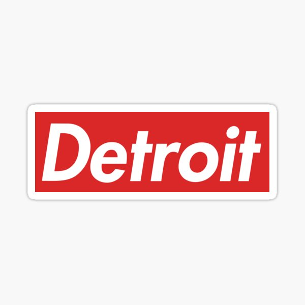 Detroit Supreme Sticker