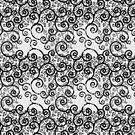 Black and White Swirls by KarterRhys