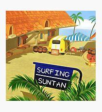 Costa Del Sol Hippy Van  Photographic Print