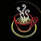 Neon Coffee by CarrieAnn