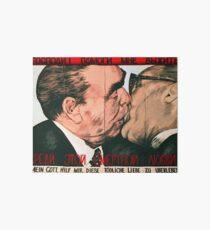 Brüderlicher Kuss Galeriedruck