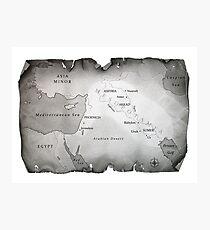 MAP OF MESOPOTAMIA Photographic Print