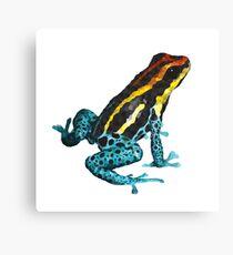 Geometrische Illustration des Frosches Leinwanddruck