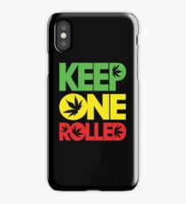 Keep One Rolled iPhone Case