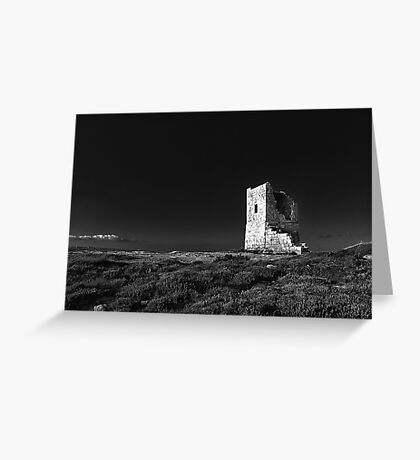 The Ruined Tower Greeting Card