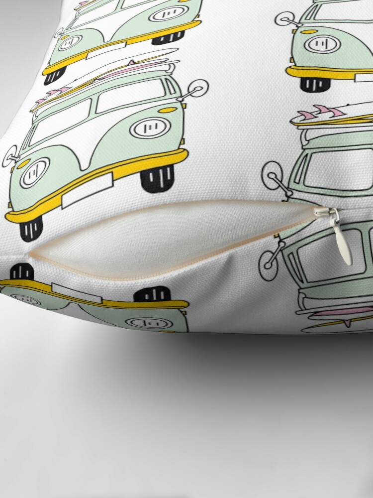 Alternate view of VW Van Floor Pillow