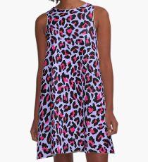 Neonpard A-Linien Kleid