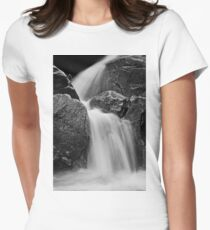 Flowing waterfall Women's Fitted T-Shirt