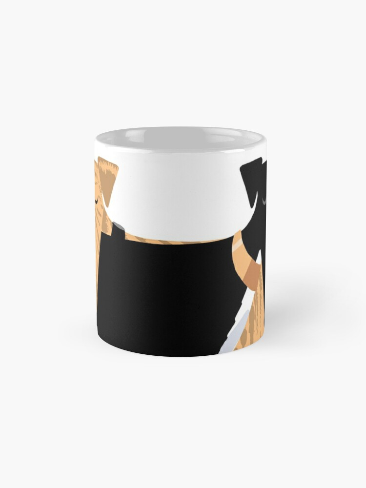 Alternate view of Head Rest Hound: A Redbubble exclusive design Mug