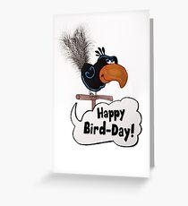 Happy Bird-Day Greeting Card