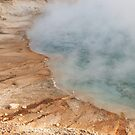 Yellowstone Geothermal Pool by katevernaphoto