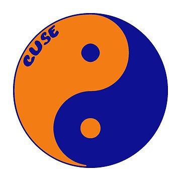 cuse yin yang by martileanne