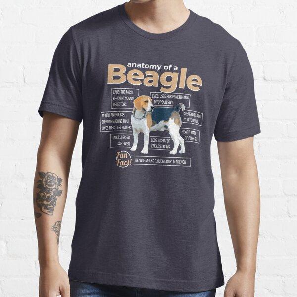 Anatomy of a Beagle Essential T-Shirt