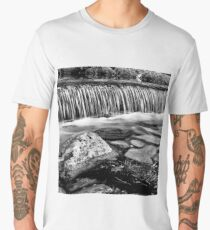 Geometric waterfall  Men's Premium T-Shirt