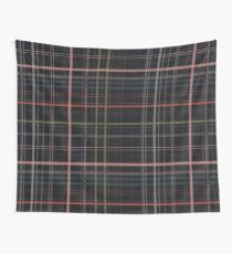 A very gloomy plaid Wall Tapestry