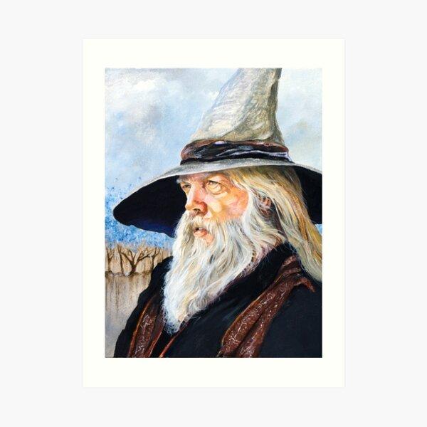 JR the Wizard Bard Art Print