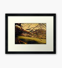 Rural Land Framed Print