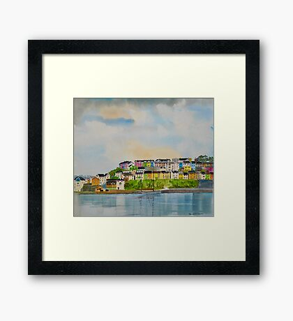 Brixham Harbour, Devon Framed Print