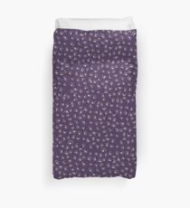 Purple Animal Print Duvet Cover