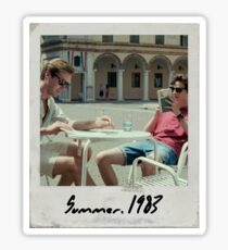 Call Me By Your Name Polaroid #2 Sticker