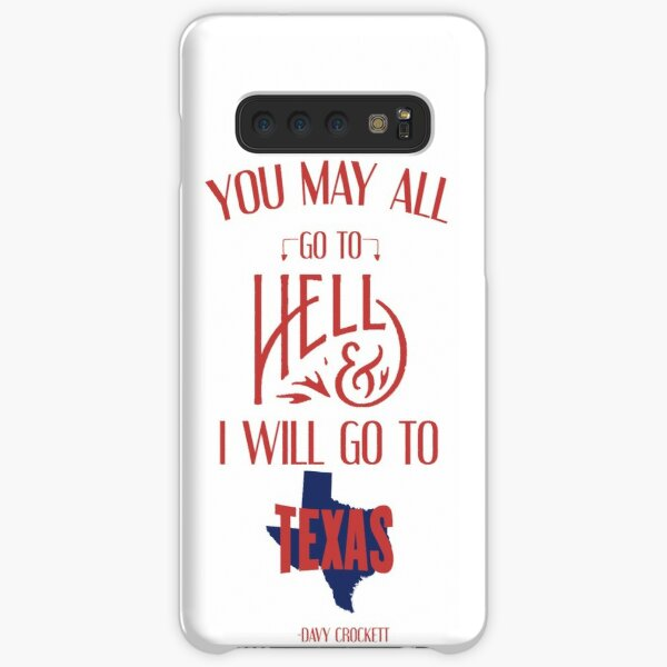 Texas Davy Crockett Tee Samsung Galaxy Snap Case