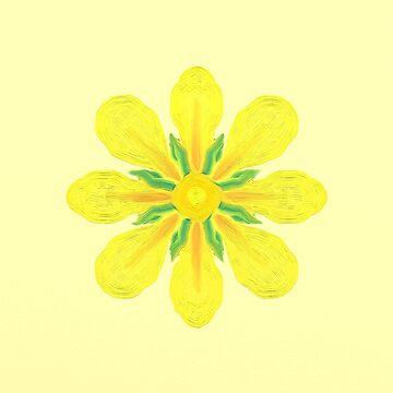 Little Yellow Flower by BettyMackey