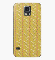 yellow flowers Case/Skin for Samsung Galaxy
