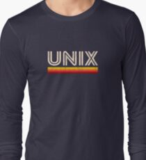 UNIX Long Sleeve T-Shirt