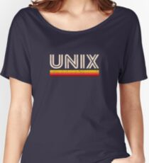 UNIX Women's Relaxed Fit T-Shirt