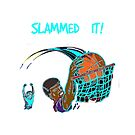 Slammed it! Basketball Player by Ruthie Spoonemore