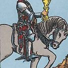 Tarot Card - Knight of Cups by kaliyuga