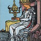 Tarot Card - Queen of Cups by kaliyuga