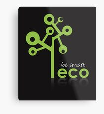Eco Green System Metal Print