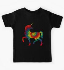 Tie Dye Unicorn Kids Tee